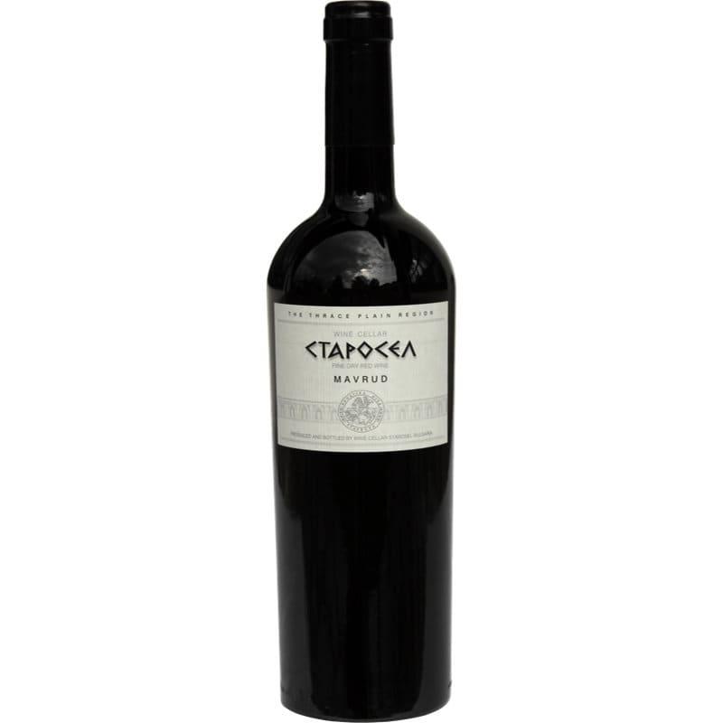 червено вино мавруд Старосел