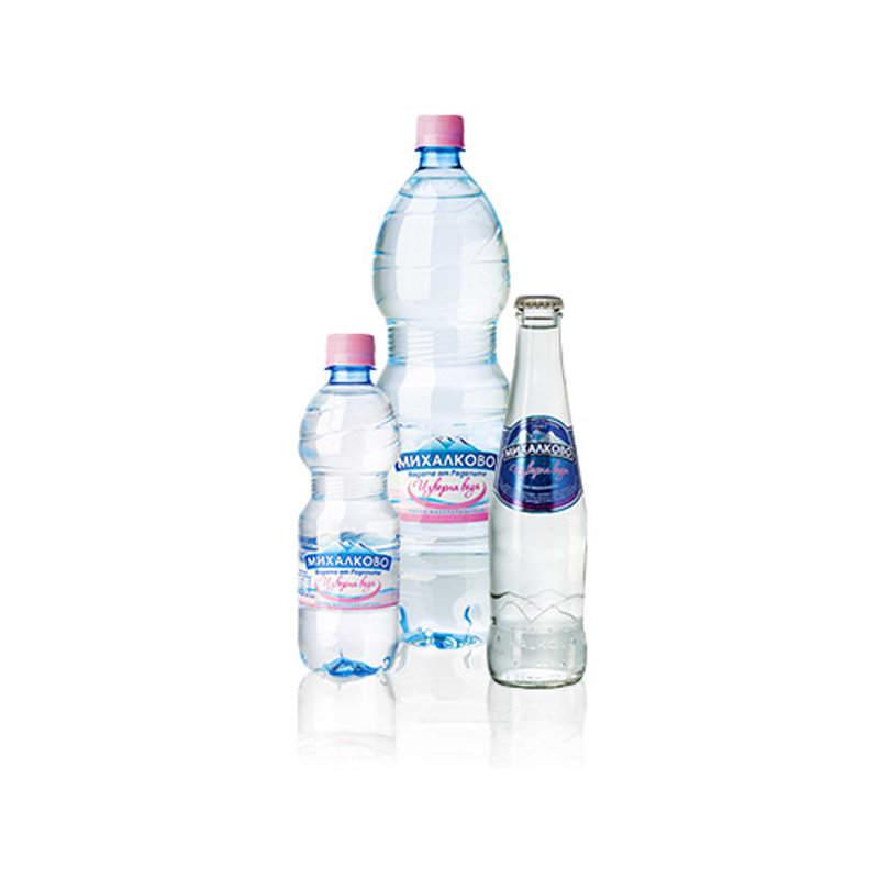 изворна вода Михалково 0,5л.
