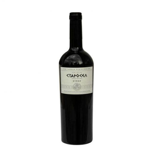 Червено вино Сира Старосел